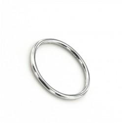 Fedina a filo tondo in argento