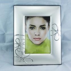 Cornice portafoto Stilarte con Fiori 10x15 con retro in legno
